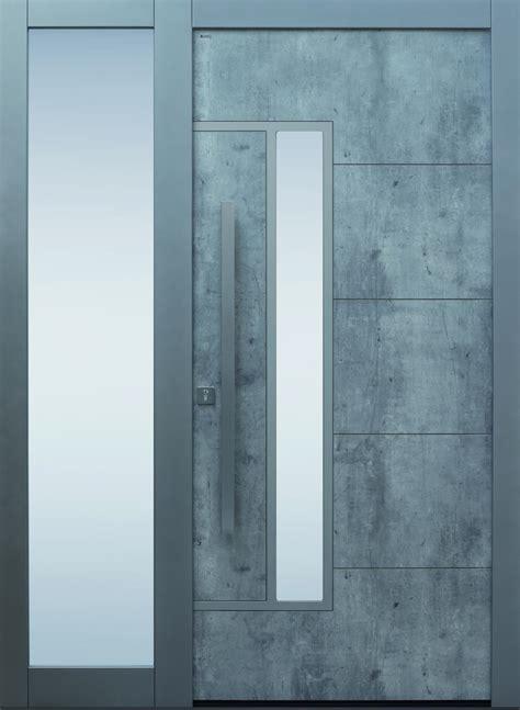 Eingangstüren Mit Seitenteil Modern by Alu Haust 252 Ren Harzite