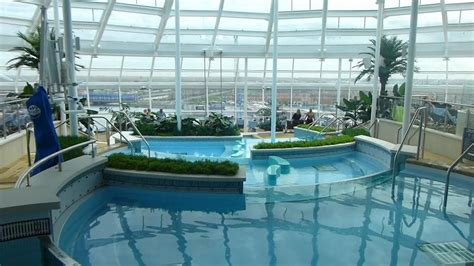 best deck on of the seas anthem of the seas pool and sport deck ship tour