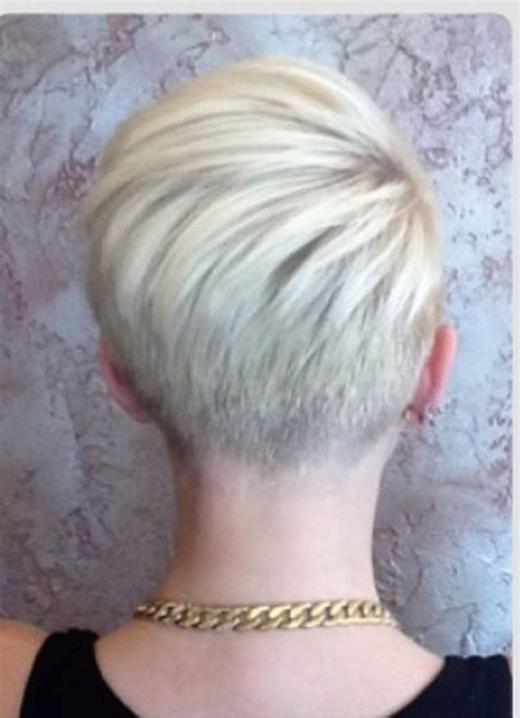 undercut hairstyle for 60 years 60 cool back view of undercut pixie haircut hairstyle