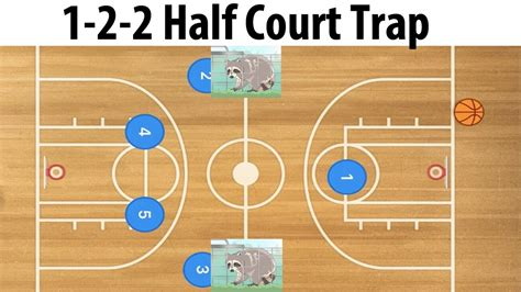 2 In 1 Basketball basketball 1 2 2 half court zone trap defense