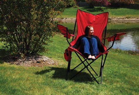 Oversized Folding Chair @ Sharper Image