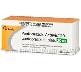 What Is Protonics Pantoprazole Actavis 20 20mg 100 Tablets Pack Pantoprazole