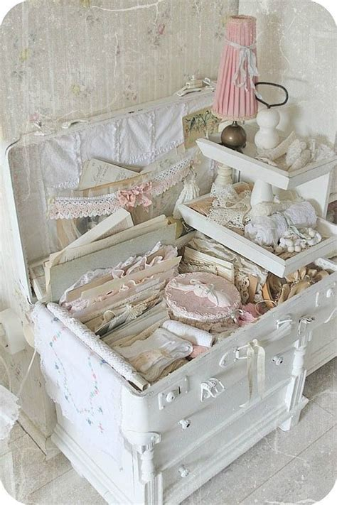 188 Best Images About Craft Room Inspiration On Pinterest Shabby Chic Trunks