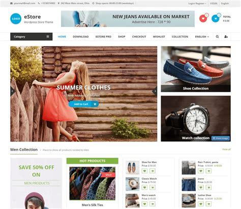 best free ecommerce themes 55 best free themes and templates for 2018