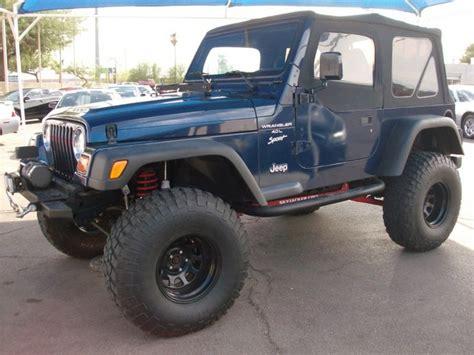 2001 jeep sport lifted four seasons motor company 2001 jeep wrangler lifted