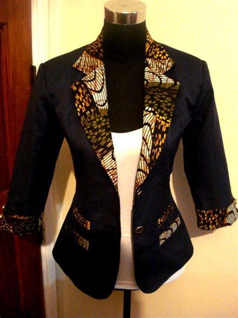 ankara blazer and jacket styles black kitenge jacket kitenge designs pinterest black