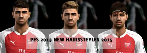 download hairstyles pes 2013 pes 2013 new hair styles 2015 pes patch