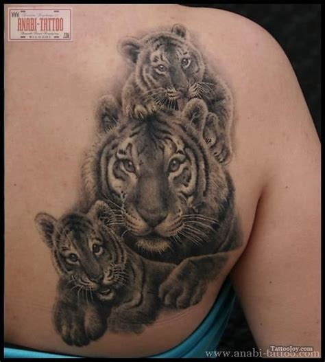 tiger family tattoo designs tiger tattoos tiger family tatoos