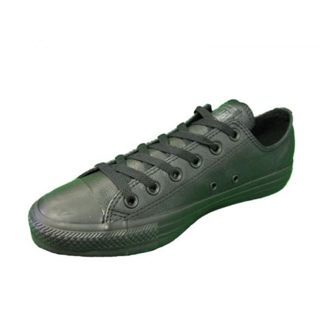 Best Product Sepatu Converse All Low Classic Black converse all ox low black monochrome leather