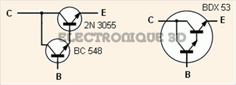 le transistor darlington electronique 3d le transistor bipolaire calcul