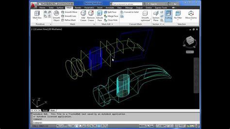 basic autocad tutorial youtube autocad 3d basics tutorial 5 lofting exercise 1