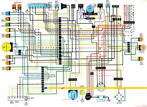 honda cb cj250 electrical wiring diagram circuit wiring