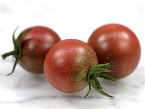 Purple Pearl Tomato black cherry tomato seeds baker creek heirloom seeds