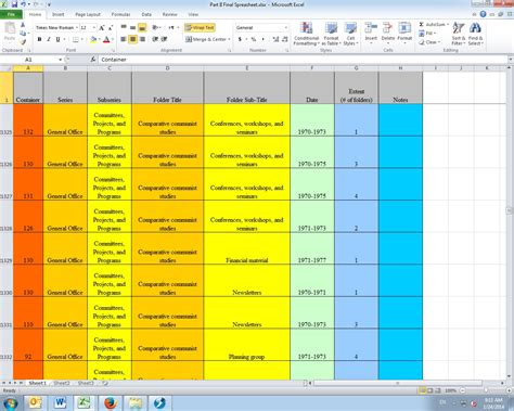 excel template files intellectual of materials documenting the humanities