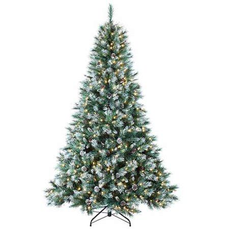 colorado pine or aster pine artificial christmas tree 7 pre lit frosted mountain pine artificial tree clear lights walmart