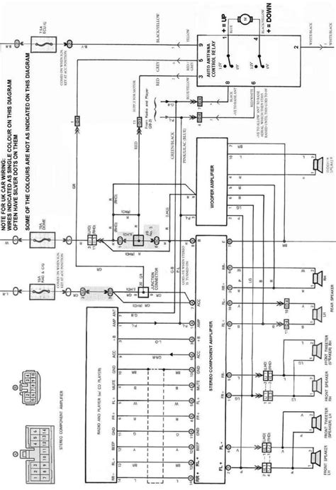 wiring diagram for electric car aerial wiring wiring
