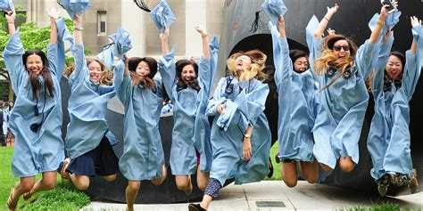 Graduation Date 2017 Mba Program Columbia by Graduating Students Columbia Commencement Week