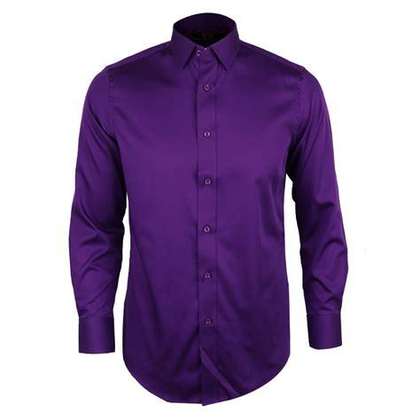 Sleeve Plain Shirt sleeve plain cotton shirt purple david wej