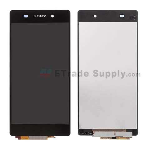 Lcd Xperia Z2 Sony Xperia Z2 Lcd Screen And Digitizer Assembly Black Etrade Supply