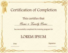 Free Printable Certificate Templates by Templates For Certificates Free Http Webdesign14