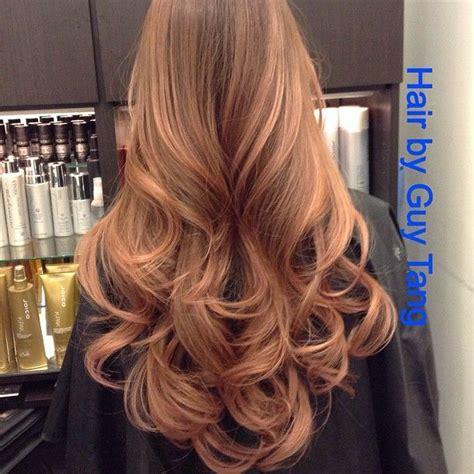 rose gold lowlights on dark hair rose gold wella illumina hair trend pinterest rose