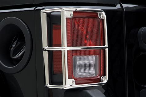 custom jeep tail light covers smittybilt euro tail light guards free shipping