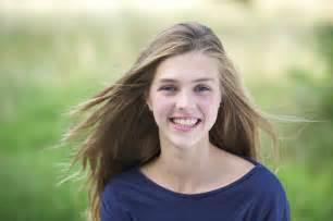 images teenage girl: portrait of a pretty teenage girl outside smiling amazing farm