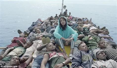 refugee boat video mia highlights the plight of refugees in striking borders