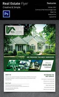 flyer templates for real estate 44 psd real estate marketing flyer templates free