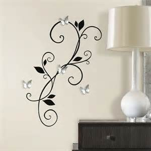 Mirrored Wall Decals Stickers Mirror Wall Decals Diy 3d Mirror Wall Art Crafthubs
