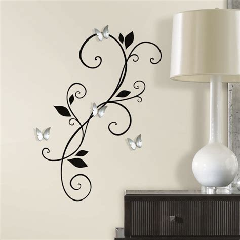 wall sticker mirrors mirror wall decals diy 3d mirror wall crafthubs with luxury diy 3d mirror wall
