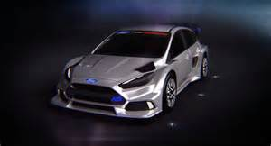 this is ken block s ford focus rs for fia world rallycross action car24news