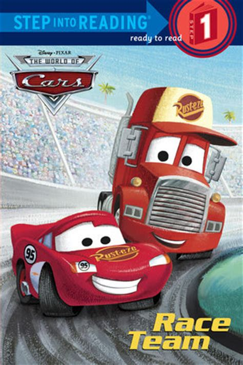 books about cars and how they work 2006 buick lucerne interior lighting step into reading race team disney pixar cars