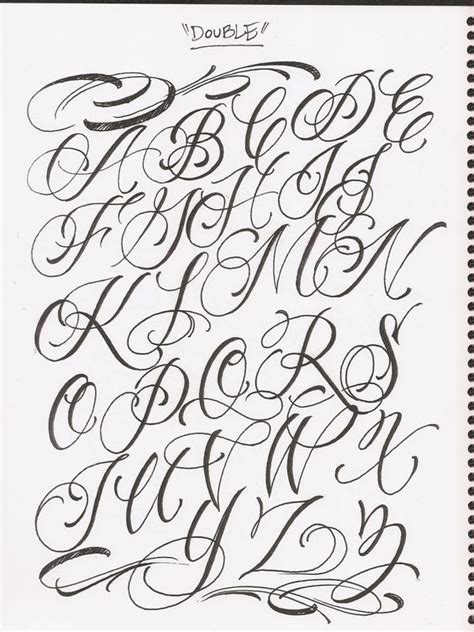 tattoo fonts a z 1000 ideas about fonts alphabet on