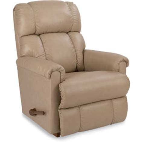lazy boy comfort care la z boy pinnacle leather rocker recliner boscov s