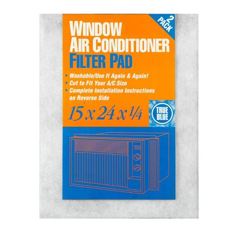 Ac Window 1 4 Pk true blue 15 in x 24 in x 1 4 in window ac fpr 2