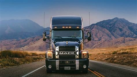 mack anthem   semi truck  lot  review youtube