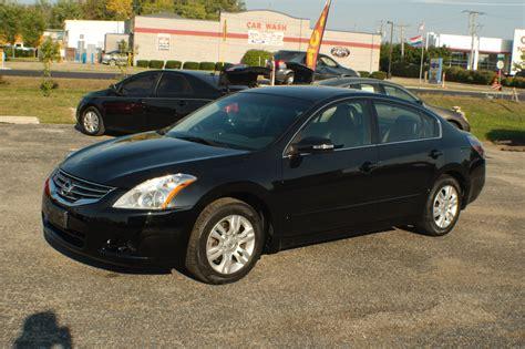 nissan altima black 2010 2010 nissan altima sl black sedan used car sale