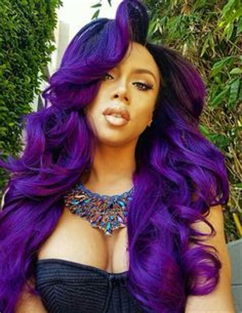 black hairstyles weave on for summerblack and purple 2017 spring summer hair color trends for black african