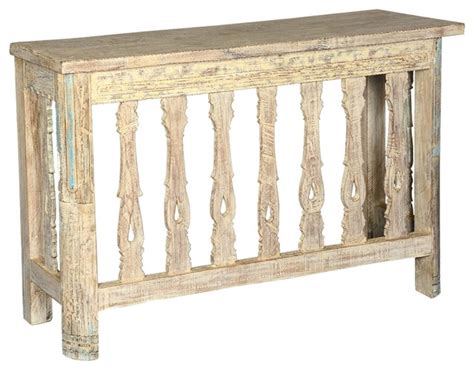 Rustic Hallway Table Palisade Reclaimed Wood Hallway Foyer Console Table Rustic Console Tables By Living