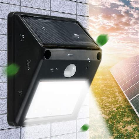 wireless motion lights outdoor 12 led waterproof ip65 solar powered wireless pir motion