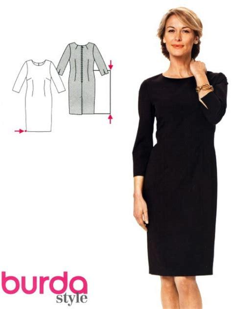 Patron Robe Droite Hiver - patron couture robe 2