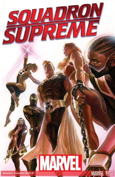 squadron supreme marvel announces new squadron supreme series