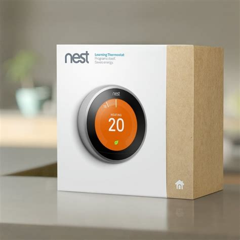 nest learning thermostat 3rd generation nest from