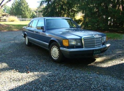 how to sell used cars 1987 mercedes benz e class engine control used 1987 mercedes benz sel series for sale in new jersey pistonheads