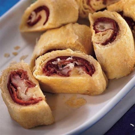 flaky bite size reuben appetizers  crescent dinner roll dough appetizers pinterest