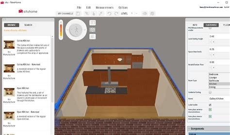 kitchen design layout software 6 best free kitchen design software for windows
