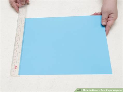 How To Make A Fast Paper Airplane Step By Step - how to make a fast paper airplane 15 steps with pictures