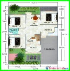 desain rumah lahan sempit terobosan baru desain rumah minimalis 1 lantai 4 kamar