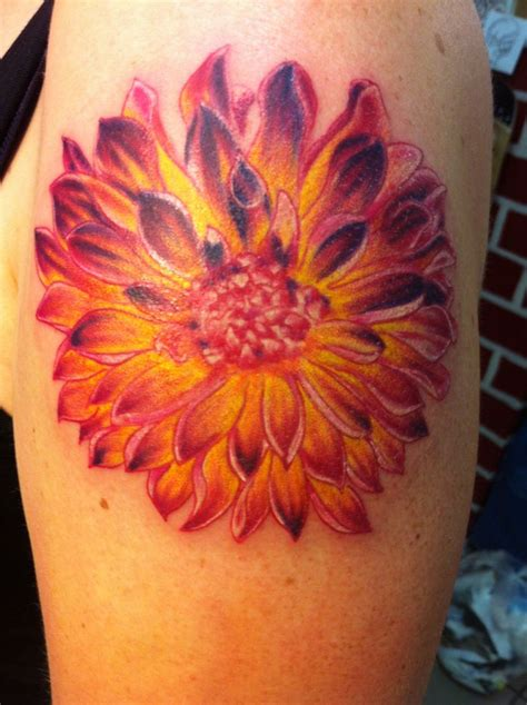 dahlia tattoos designs ideas and meaning tattoos for you